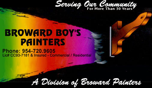 BROWARD BOY'S    PAINTERS